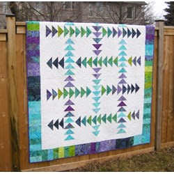 Running Geese Quilt Pattern by Cut Loose Press