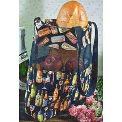 Vinyl Mesh Market Bag Pattern by Cut Loose Press