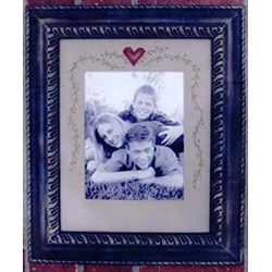 Heart Framed Sitchery Pattern by Dizzy Frizzy