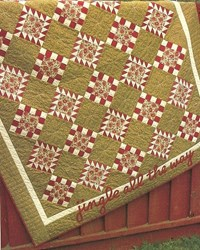 Vintage Find!  Peppermint Swirls Quilt Pattern