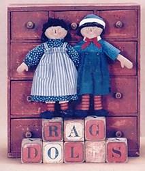 Raggedies Kit<br>by Gail Wilson Designs