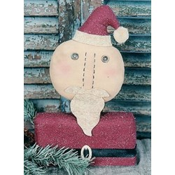 December Santa Doll & Stitchery Pattern Month by Month Series by Homebodies