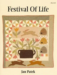 Festival of Life Quilt Pattern Booklet