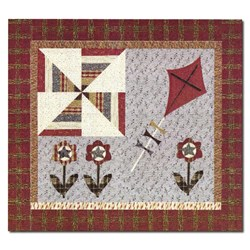 Kites of March Quilt Pattern by Jan Patek Quilts Inc.