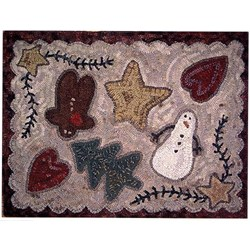 Kindred Christmas Monks Cloth Pattern by Kindred Spirits