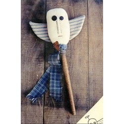 Primitive Angel Bobbin Folk Pattern by Lakeview Primitives