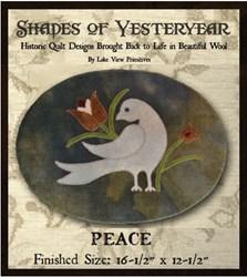 Peace Penny Rug