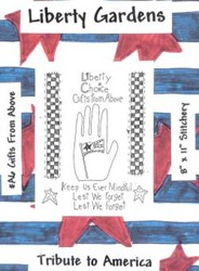 Gifts From Above Stitchery Pattern-Tribute to America <br>by Liberty Gardens
