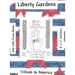 Gifts From Above Stitchery Pattern-Tribute to America by Liberty Gardens