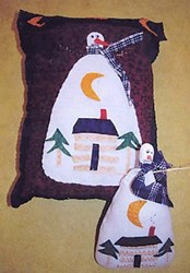 Snow Nights Pillow & Doll Pattern by Liberty Gardens