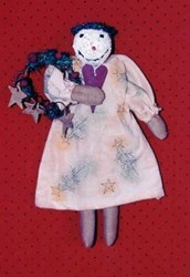 Vintage Find!  Fannie Frostbite Pattern by LIttle Stitches