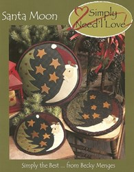 Vintage Find!  Santa Moon <br><i>Simply</i> Need'l Love