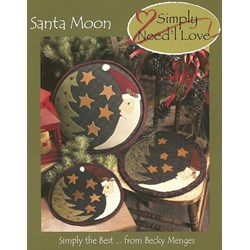 Vintage Find!  Santa Moon Simply Need'l Love