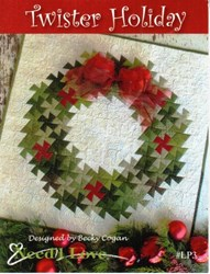 Twister Holidays Quilt Pattern by Need'l Love