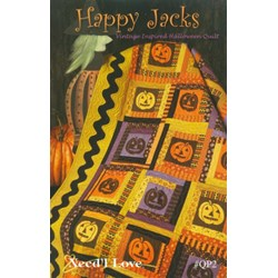 Happy Jacks Quilt Pattern by Need'l Love