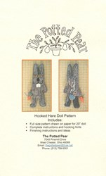 Hooked Hare Doll Pattern- by the Potted Pear