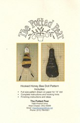 Hooked Honey Bee Doll Pattern- by the Potted Pear