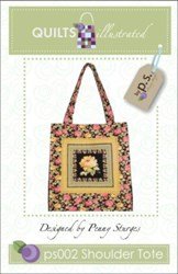 Shoulder Tote Pattern-Penny Sturges <br> QuiltsIllustrated.com
