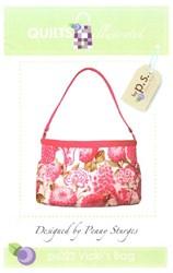 Vicki's Bag Pattern-Penny Sturges <br> QuiltsIllustrated.com