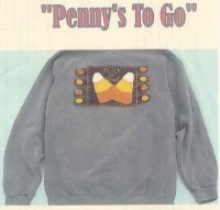 Vintage Find!  Penny's To Go Pattern - Candy Corn <br>by Raggedy Junction