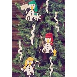 Vintage Find!  Penguine Parade Ornaments Pattern
