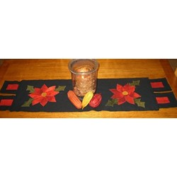 Poinsettia For Your Table Wool Pattern
