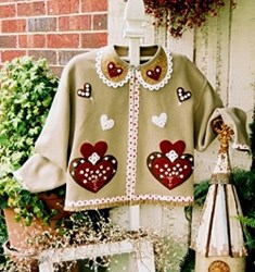 Sweetheart Jacket  Pattern<br> Serendipity Gifts