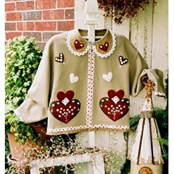 Sweetheart Jacket  Pattern Serendipity Gifts