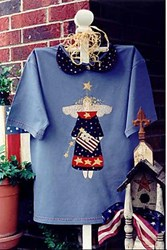 Vintage Find!  Betsy - A Patriotic Angel T <br>by Serendipity