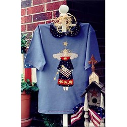 Vintage Find!  Betsy - A Patriotic Angel T by Serendipity