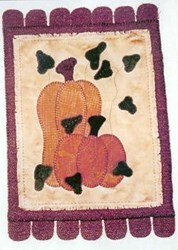 Vintage Find!  Pumpkin Pennyrug Pattern