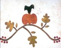 Vintage Find!  Crow on the Vine Pattern