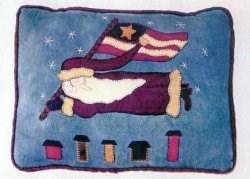 Vintage Find!  Santa's Midnight Cruise Pillow Pattern