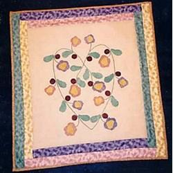 Vintage Find!  Flowers In My Heart Pattern