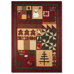 Back in Stock!! Gingerbread Spice Sampler Quilt by Summer Love & Co.