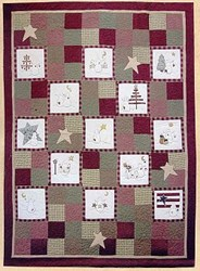 Back In Stock!! Snowman Applique Quilt Pattern<br> by Summer Love & Co.
