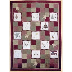 Back In Stock!! Snowman Applique Quilt Pattern by Summer Love & Co.