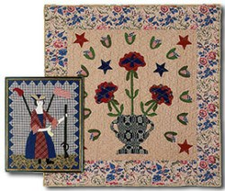 A New Nation & Daughter of Liberty Quilt Pattern by Terry Clothier Thompson for Peace Creek Pattern Co.