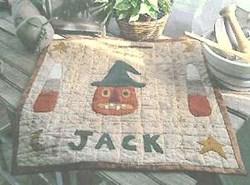 Vintage Find!  The Old Tattered Flag Designs - Jack in the Hat Pattern