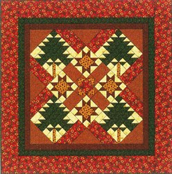 Vintage Find!  Lakeland Pines Quilt Pattern byThimbleberries