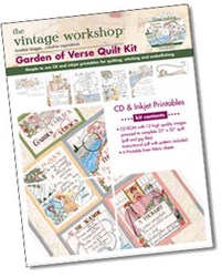 Garden of Verse Quilt Kit <br>the Vintage Workshop