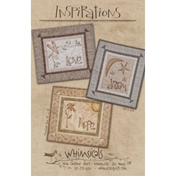 Vintage Find!  Inspirations Pattern by Whimsicals Quilts
