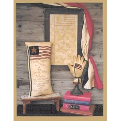 The Pledge of Allegiance PatternWooden Spool Designs