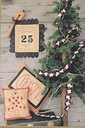 Polka Dots and Popcorn Christmas  Pattern<br>Wooden Spool Designs