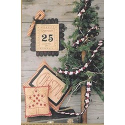 Polka Dots and Popcorn Christmas  PatternWooden Spool Designs