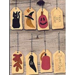 Vintage Find!  TAGS - Fall Collection BookletWooden Spool Designs