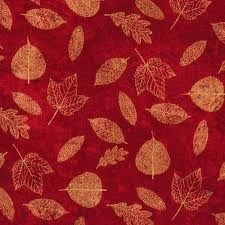 A New Leaf - Red Metallic Leaves by Ro Gregg- by Paintbrush Studios