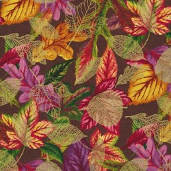 A New Leaf - Gilded Autumn Leaves by Ro Gregg- by Paintbrush Studios