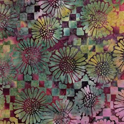"End of Bolt - 76"" - Island Batik 121930900 Beaujolais"
