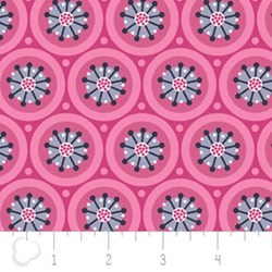 Paradise by Pink Medallions by Alissa Couter for Camelot -<i> Retired Fabric!</i>